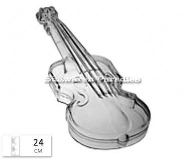 Violine aus Plastik zum selbst befüllen 24cm
