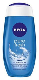 Nivea Pure Fresh Pflegedusche, Duschgel, 4er Pack (4 x 250 ml)