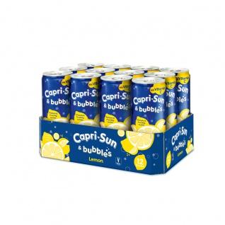Capri Sun Bubbles Lemon Kohlensäurehaltiges Getränk 330ml 12er Pack