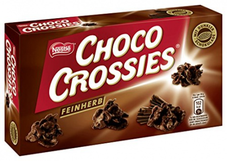 Nestlé Choco Crossies feinherb (160g)