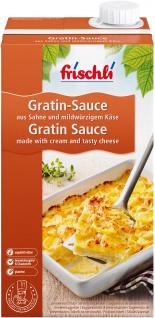 Frischli Gratin-Sauce aus feiner Sahne Convenience pur 1000ml
