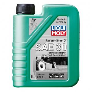 Liqui Moly Rasenmäher Öl SAE 30 Hochwertiges Einbereichsmotoröl 1L