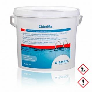 Bayrol Chlorifix Compact Wasserdesinfektionmittel mit Chlor 5000g