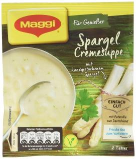 Maggi Meisterklasse Spargel-Cremesuppe, 27er Pack (27 x 500 ml Beutel)