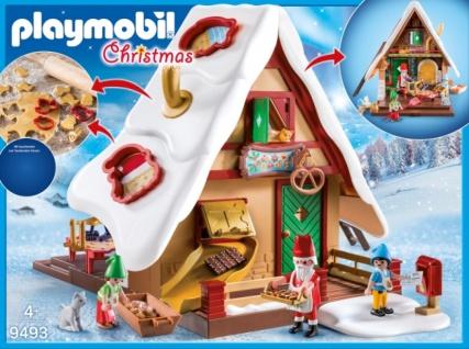 Playmobil Weihnachtsbäckerei mit Plätzchenform Spielfigurensets