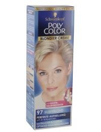 Schwarzkopf Poly Color Blondier Creme 97 Silberblond 89 ml