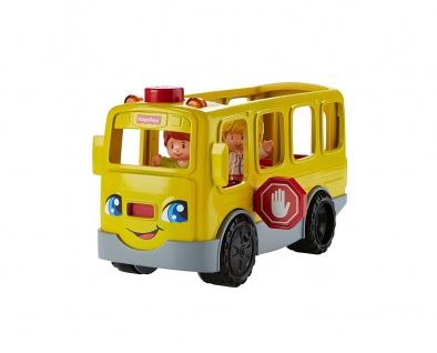 Mattel Fisher-Price Little People Schulbus mit Leucht und Soundeffekten