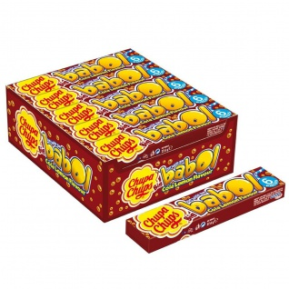 Chupa Chups Big Babol Cola Lemon Kaugummiwürfel 27g 20er Pack