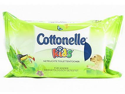 Cottonelle Kids, 42 feuchte Toilettentücher - Vorschau