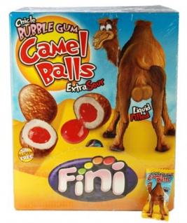Bubble Gum Boom Camel Balls mit flüssiger Kirschfüllung Display