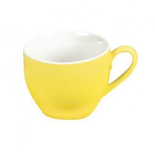 Doppio gelb Espresso-Obertasse