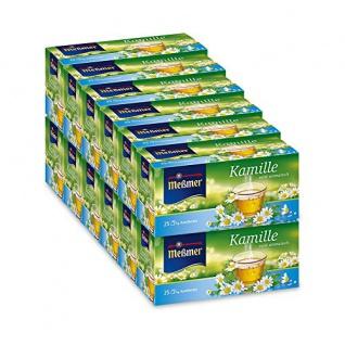 Meßmer Kamille Teegetränk mild blumiger Kräutertee 10er Pack