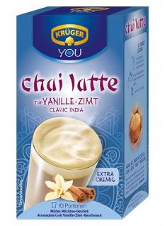 Krüger Chai Latte Vanille Zimt Classic India extra cremig 250g