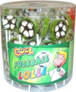 Cool Fußball Lolli einzeln verpackte Lollis Wurfmaterial 1000g