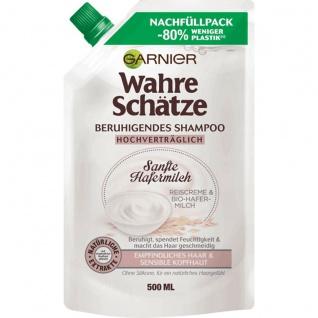 Garnier Wahre Schaetze Shampoo Sanfte Hafermilch Nachfüllpack 500ml
