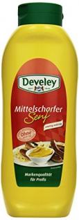 DEVELEY Mittelscharfer Senf, 4er Pack (4 x 875 ml)