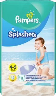 Pampers Windeln Splashers Gr.4-5 TP 9-15kg 11ST