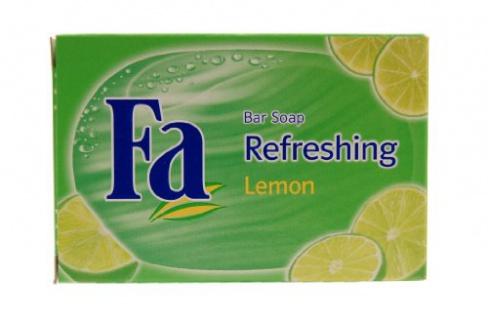 Fa Seife Refreshing Lemon mit einem zitrus frischem Duft 100g