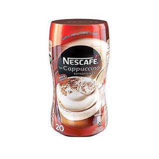 Nescafé Typ Cappuccino Entkoffeiniert, Löslicher Kaffee, 250g Dose (5er Pack)
