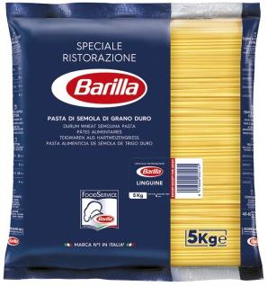 Barilla Linguine Nummer 13 flache Spaghetti aus Hartweizen 5000g