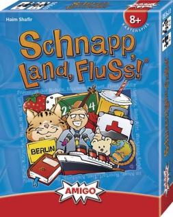 Amgio Schnapp Land Fluss Ein Kartenspiel für die ganze Familie