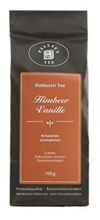 Paulsen Rotbusch Tee Himbeer Vanille Kräutertee aromatisiert 100g