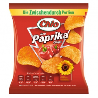 Chio Chips Red Paprika 30g 30er Pack