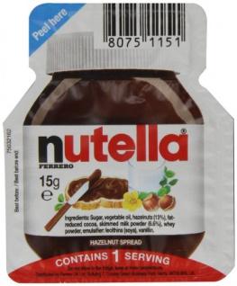 Ferrero Nutella Single Portion 120 Einzelportionen