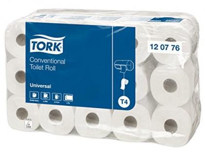 Toilettenpapier Tork hochwertig Universal Qualität 30 Kleinrollen 2lagig