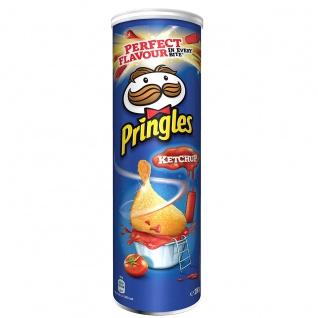 Pringles Ketchup Stapelchips mit Tomaten Ketchup Geschmack 200g