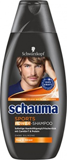 Schauma Sports Shampoo, 4er Pack (4 x 400 ml)