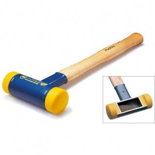 Wiha Premium Schonhammer rückschlagfrei mit Hickory Holzstiel 50mm
