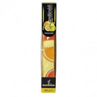 Casa Rinaldi Soft Nougat Riegel mit Limocello italienische Spezialität 100g
