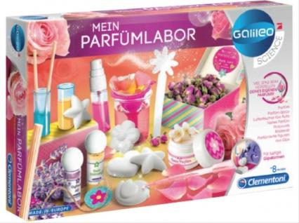 Clementoni 59070 Galileo Mein Parfümlabor Experimente für Kinder