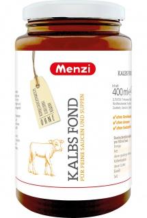 Menzi Kalbs Fond Grundlage für feine Saucen nund Suppen 400g