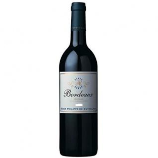 Bordeaux Rothschild AOC Rotwein aus Frankreich trocken 4500ml, 6er Pack