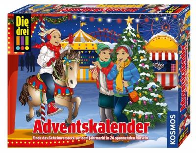 Kosmos 63407 Adventskalender Die drei Ausrufezeichen 2019 für Kinder