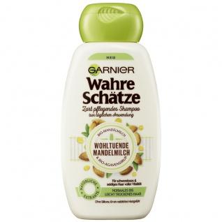 Garnier Wahre Schätze Shampoo Mandelmilch und Agavensirup 250ml