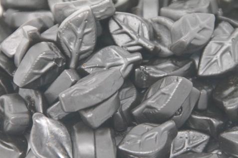Lakritz Kräuterblätter starkes Lakritz in Blattform zuckerfrei 300g