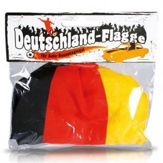 Cepewa WM Auto Aussenspiegel elastische waschbare Deutschland Fahne