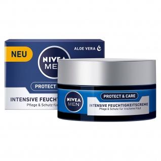 Nivea for men Feuchtigkeitscreme Protect & Care 100ml 3er Pack - Vorschau