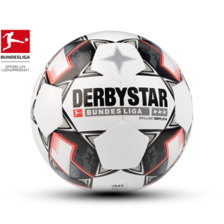 Fußball Derbystar Brillant Replica 5 APS strapazierfähiges Material