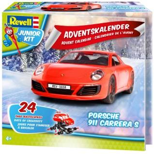 Revell Junior Kit dventskalender Porsche 911 S Revell Modellbau