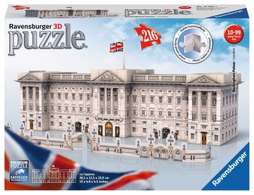 Ravensburger 3D - Puzzle - Buckingham Palace 216 Teile 381x123x109mm