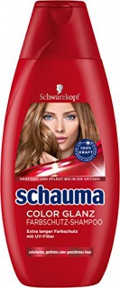 Schauma Color Glanz Shampoo, 4er Pack (4 x 400 ml)