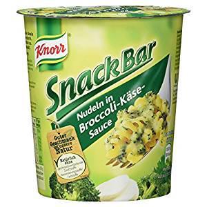 Knorr Snack Bar Nudeln in Broccoli-Käse-Sauce, 69g