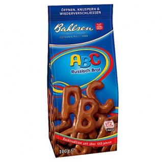 Bahlsen ABC Russisch Brot Menge:120g