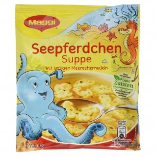 Maggi Guten Appetit Seepferdchen Unterwasserwelt Suppe im Beutel 55g