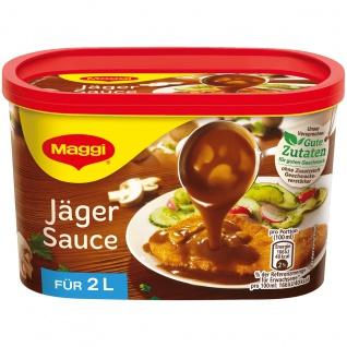 Maggi Jäger Sauce ideal für Schnitzel Braten und Steaks 200g