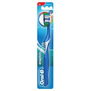 Oral-B Complete 5 Reinigungszonen, Handzahnbürste, 44 mittel, 12er Pack (12 x 1 Stück)